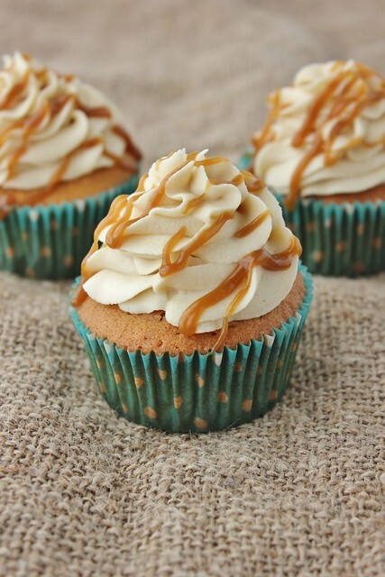 Butterscotch Cupcakes