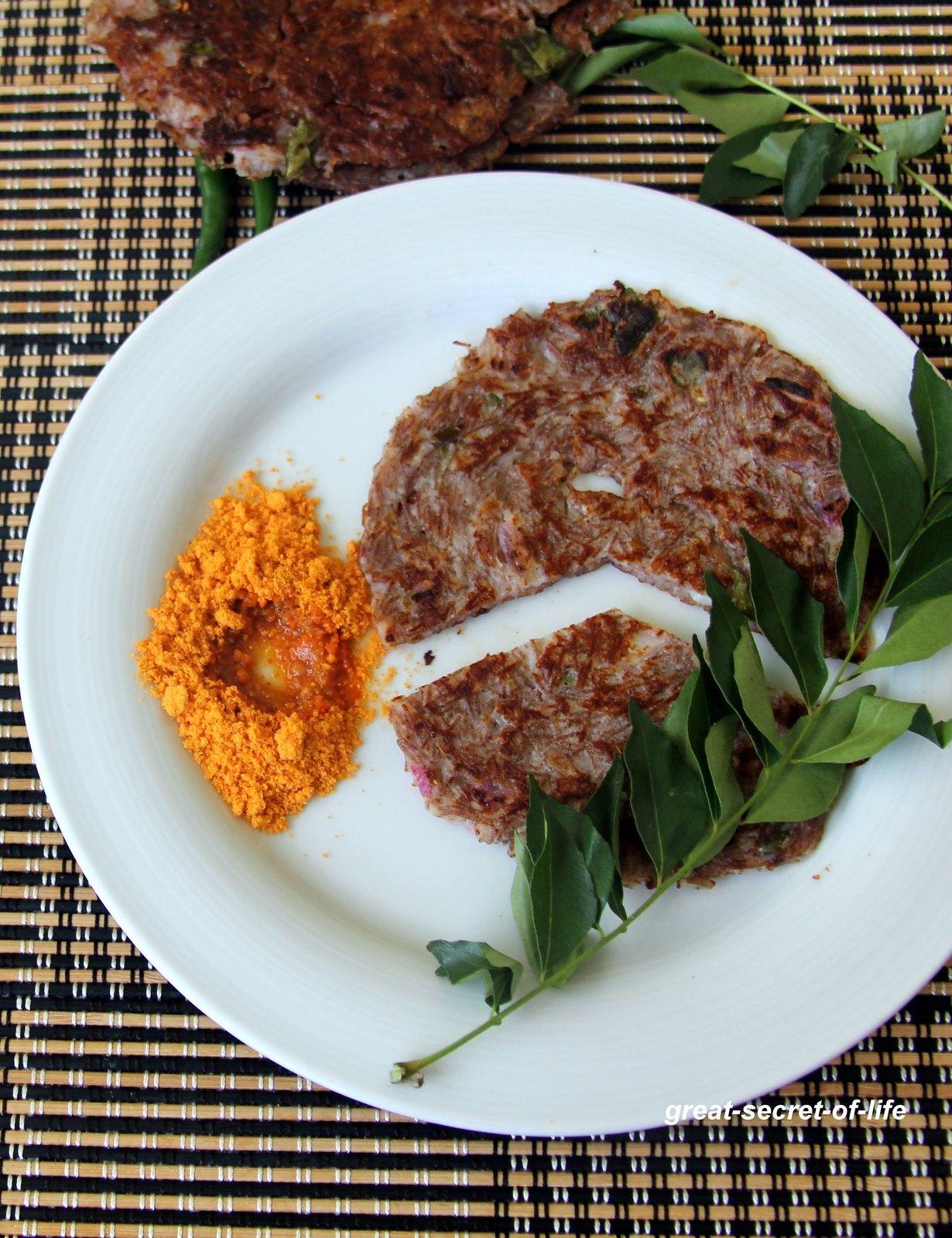Semiya Adai - vermicelli Adai - vermicelli pancake - Instant Simple reciepes