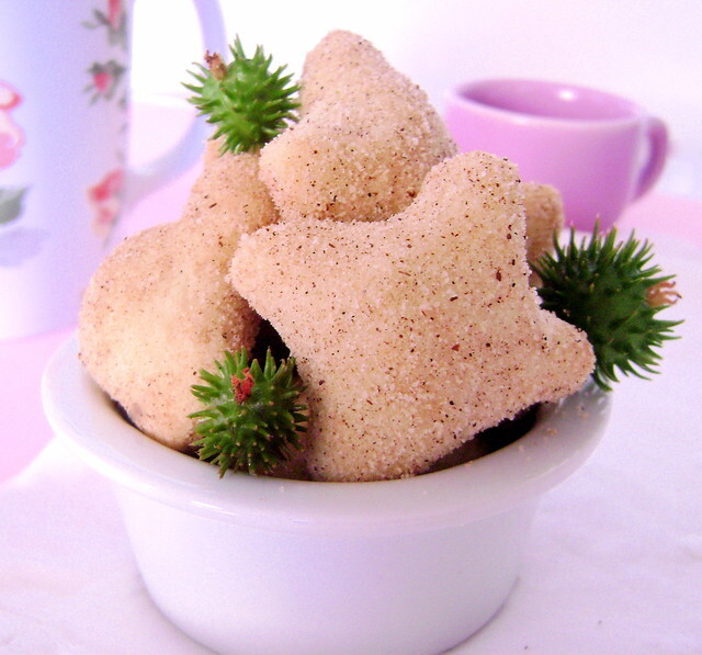 Bolachinhas de Goiabada, Açúcar e Canela