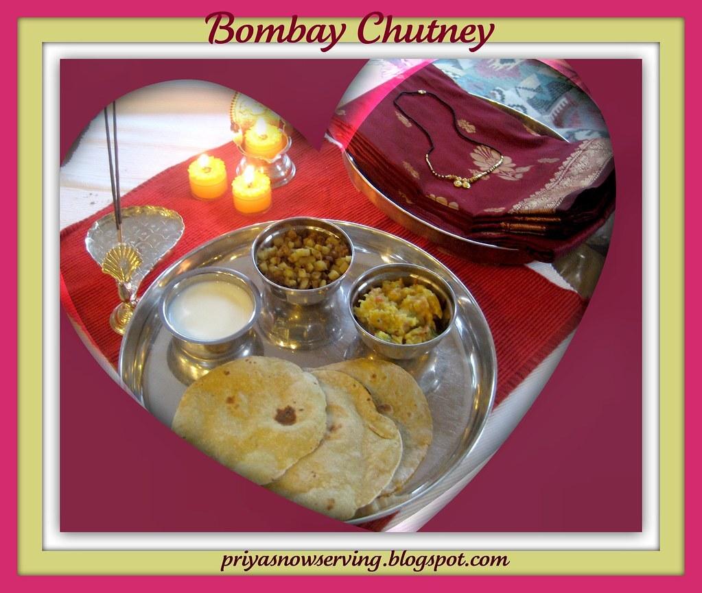 Bridal Shower For Nithya - Bombay Chutney & Apple Capsicum Couscous