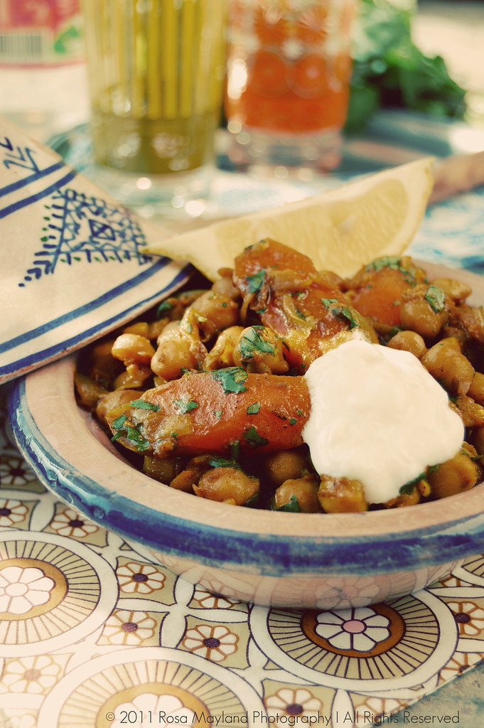 SPICY CARROT & CHICKPEA TAGINE, LAROUSSE CUISINE BOOK REVIEW & THE FAIRY HOBMOTHER STRIKES AGAIN