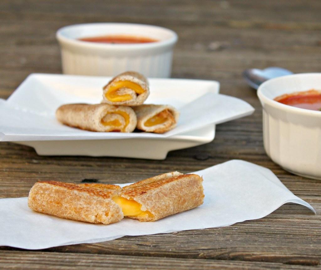 Pão com queijo simples e criativo