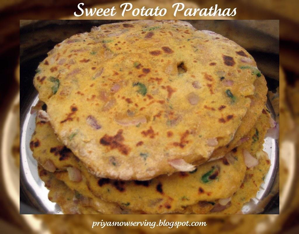 Sweet Potato Parathas - Thanksgiving Special :)