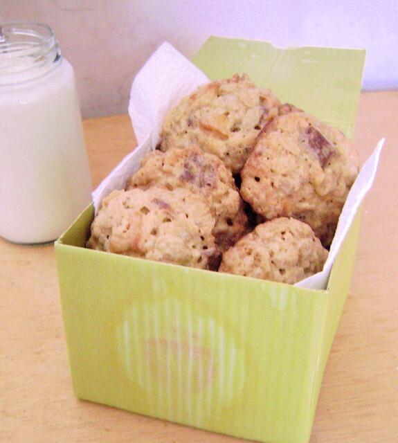 Cookies de Aveia, Chocolate e Coco e o Segredo da Amamentação!