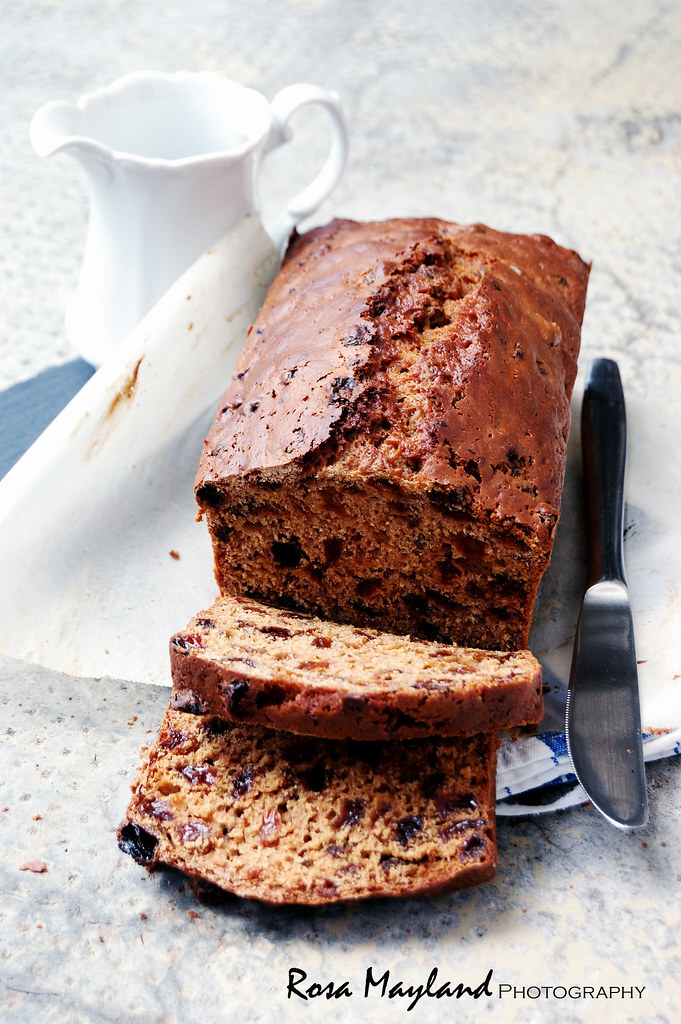 "ENGLISH FRUIT LOAF - CAKE ANGLAIS AUX RAISINS SECS ♥ A GUEST POST FOR BEN AT ""WHAT'S COOKING MEXICO?"""