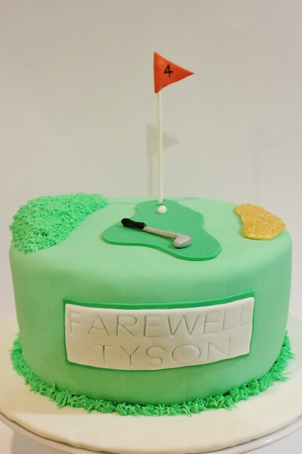 Golf Cake and How to Decorate Cake Tutorial