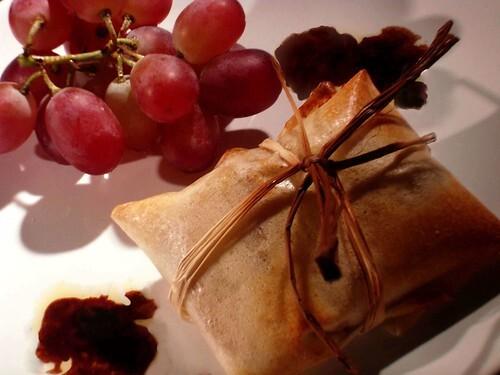 Foie Gras et Poire en Petit Cadeau Aromatisé aux Cinq Parfums