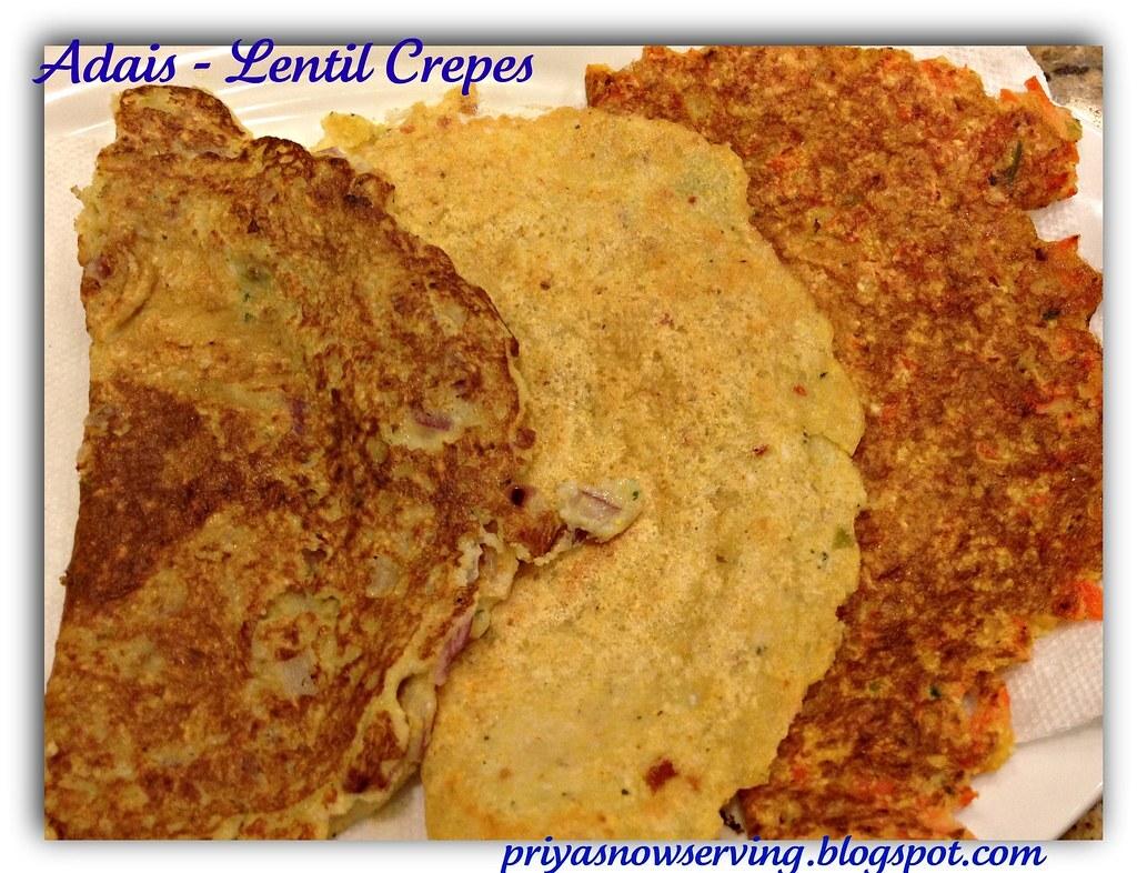 Adais - Lentil Crepes