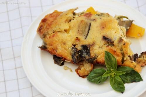 Clafoutis Provencal & Cookbook Sundays # 11