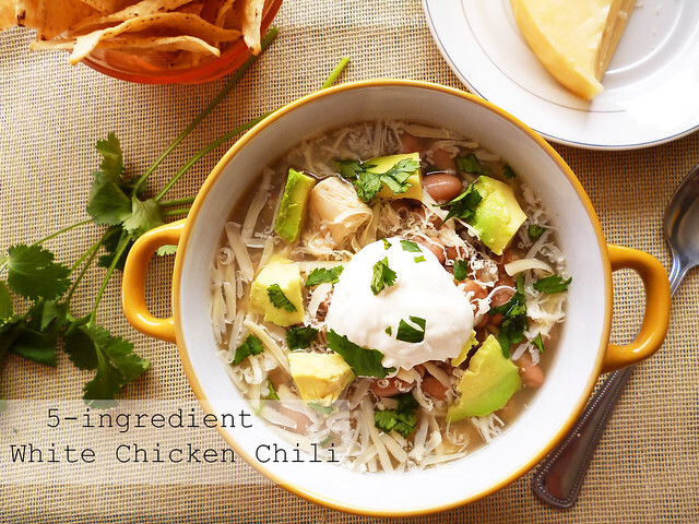 5-Ingredient White Chicken Chili