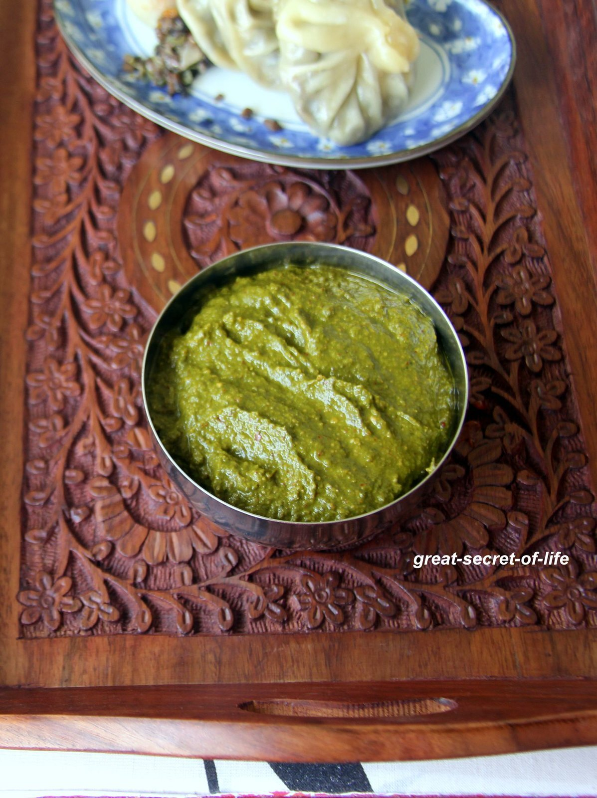 Methi chutney - Fenugreek leaves Dip - Methi Thogayal - Healthy side dish for rice / idli / dosa