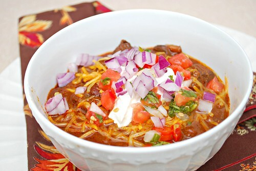 Smoky Slow-Cooked Chili