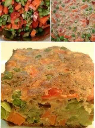 Torta Salgada de Legumes