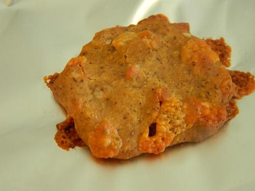 Chipotle Cheese Buckwheat Crackers