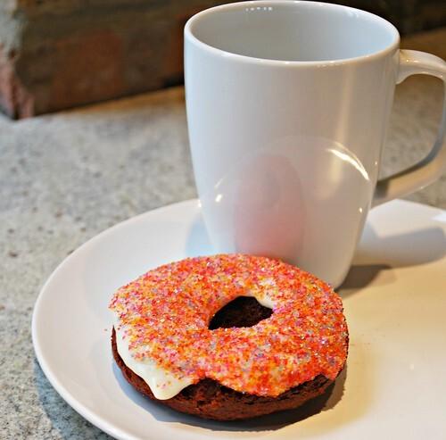 Red Velvet Cake Donuts