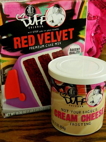 Duff Goldman's Red Velvet Cake Mix (#ProductReview)