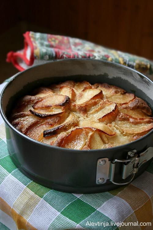 Пирог с яблоками. Дважды.