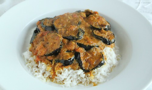 Lake Palace Hotel Aubergines Cooked in the Pickling Style (Baigan Achari)