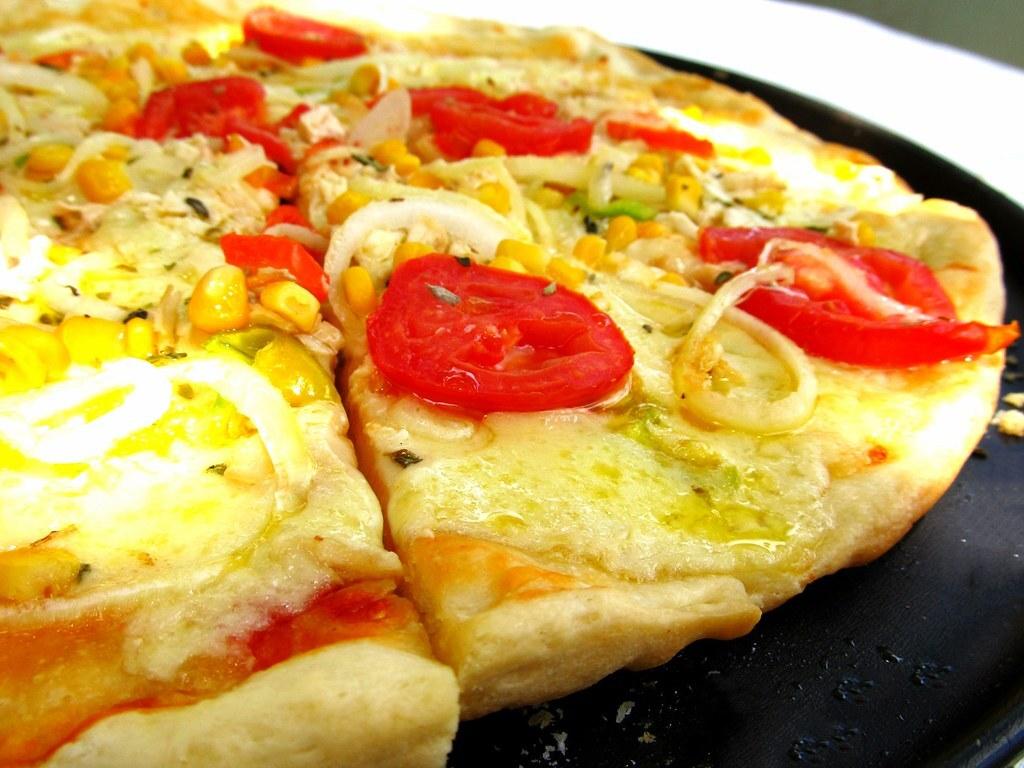 Pizza de Frango Feita em Casa