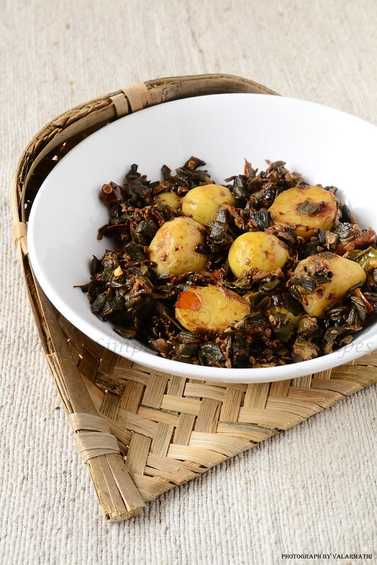 Aloo Bhindi Stir Fry (Potato and Lady Finger )