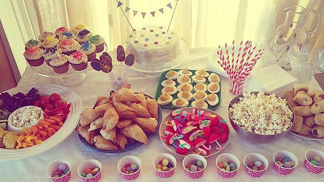 Rainbow party, οι συνταγές