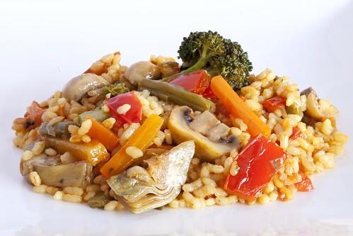 Arròs sec de verdures