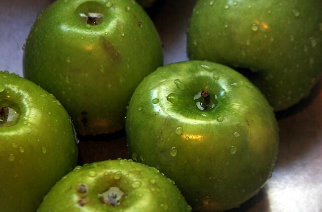 Manzanas caramelizadas al curry
