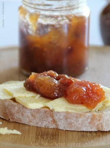 Apple, Plum & Apricot Chutney