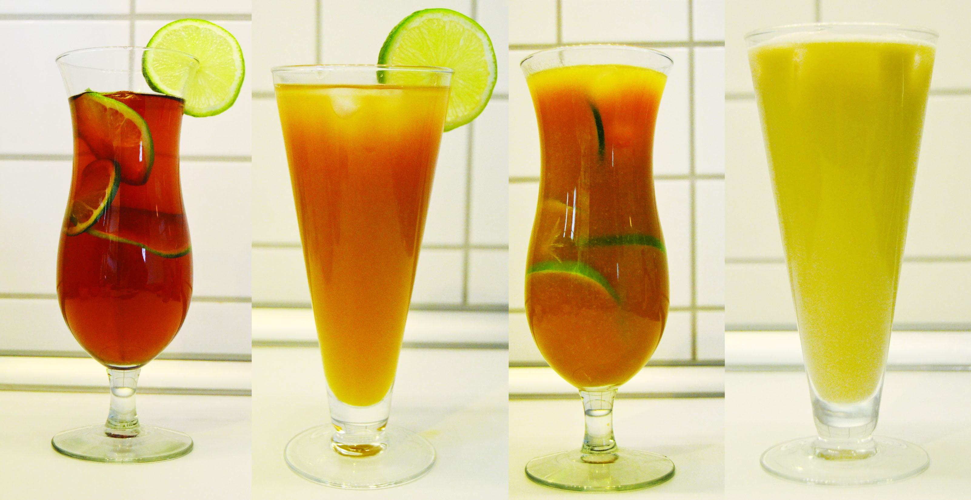 Chá gelado com chá mate (4 receitas)