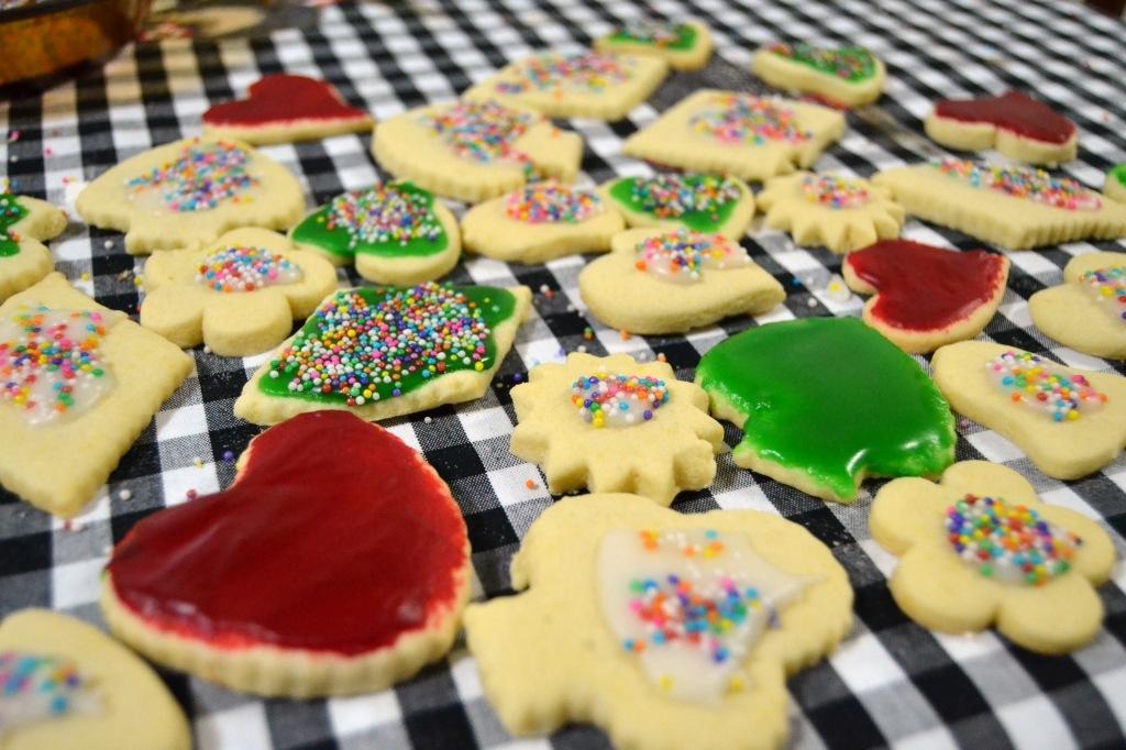 Plätzchen – Biscoitos glaçados alemães