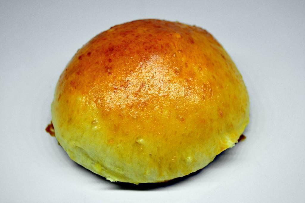 pao de batata com recheio vegetariano