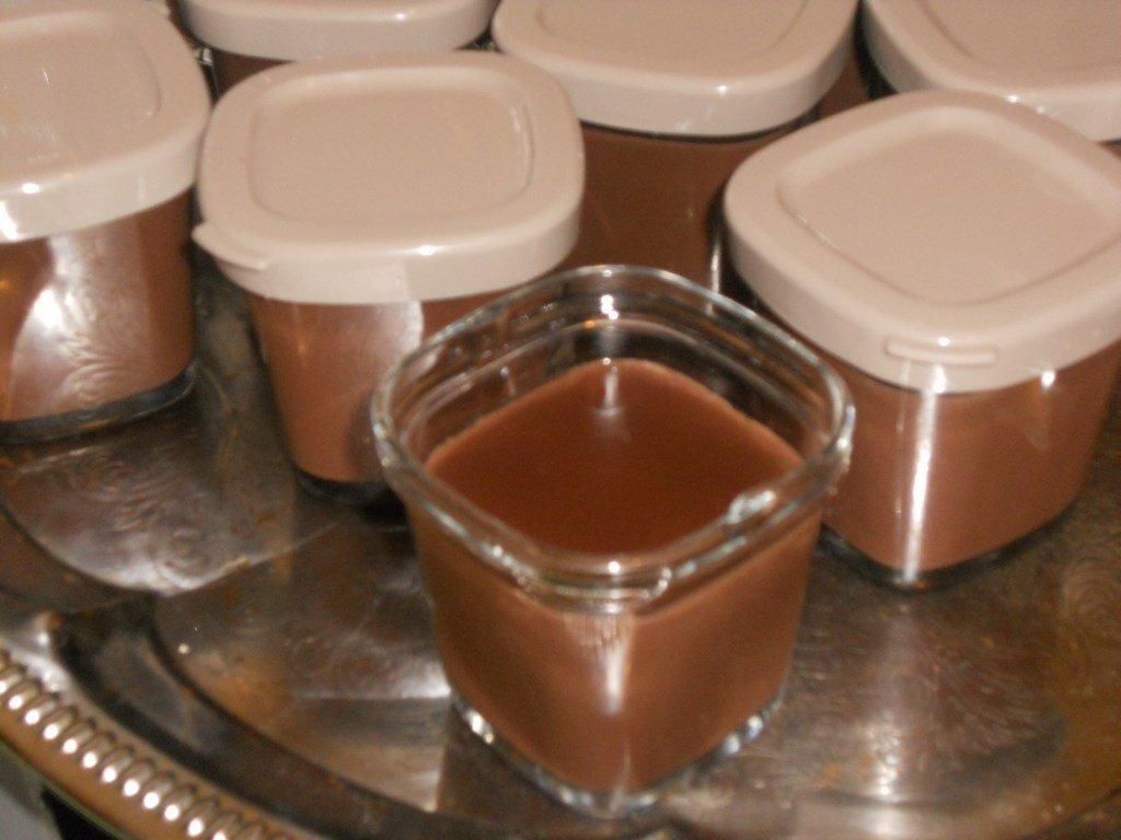 Crèmes dessert chocolat au companion