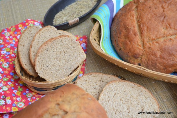 100% Whole wheat Panmarino – Italian potato rosemary bread