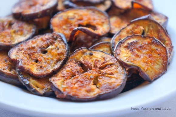Brinjal/Eggplant Fry