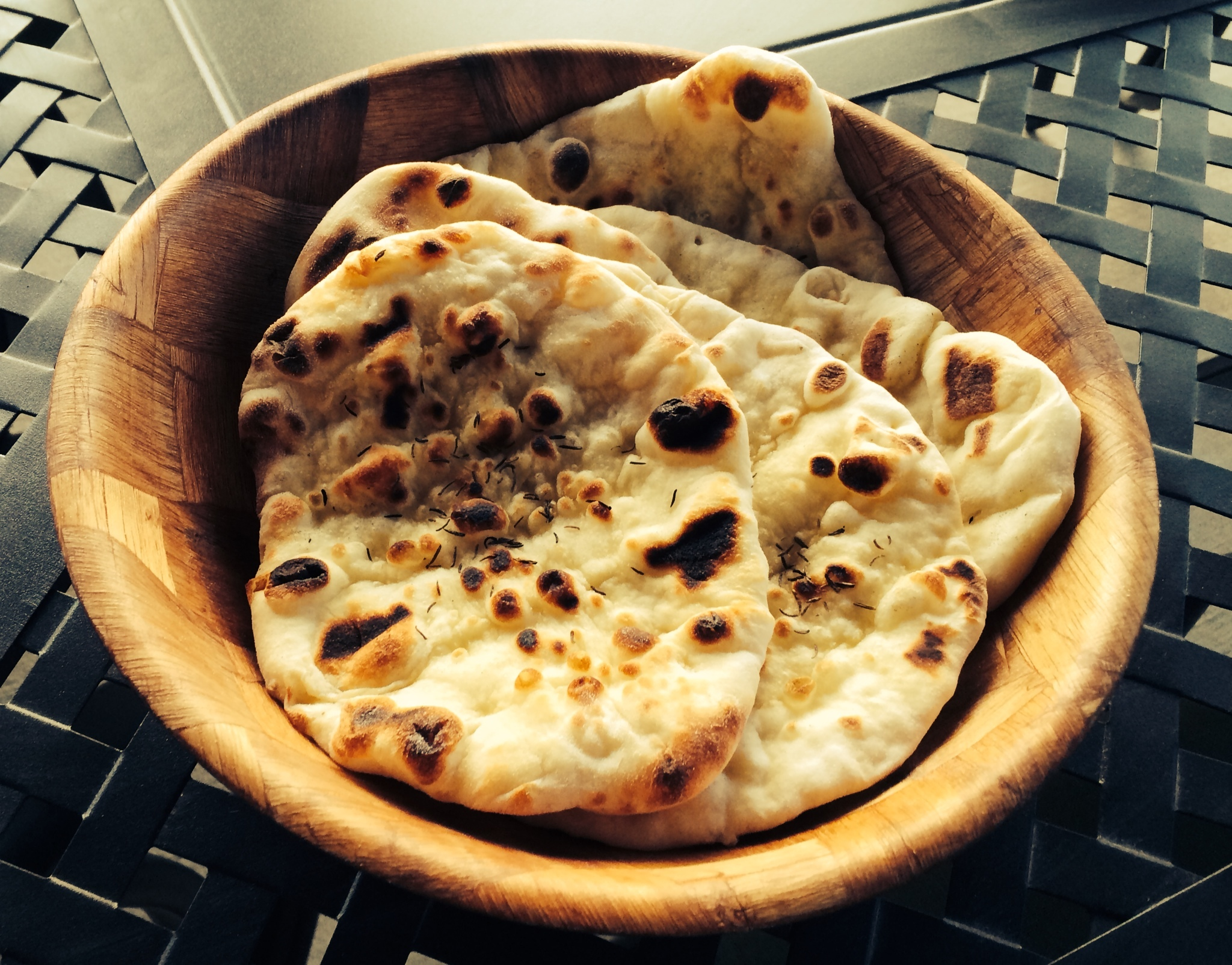 Homemade Naans (Indian Flatbread)
