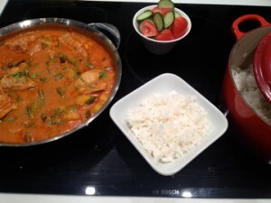 Hearty Chicken Potato Curry