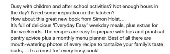 Everyday easy with Simon Holst