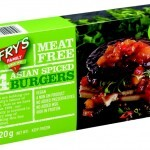 New Meat Free Asian Spiced Burgers