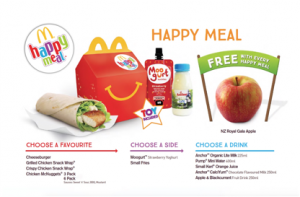 Happy Meal to include Free Apple