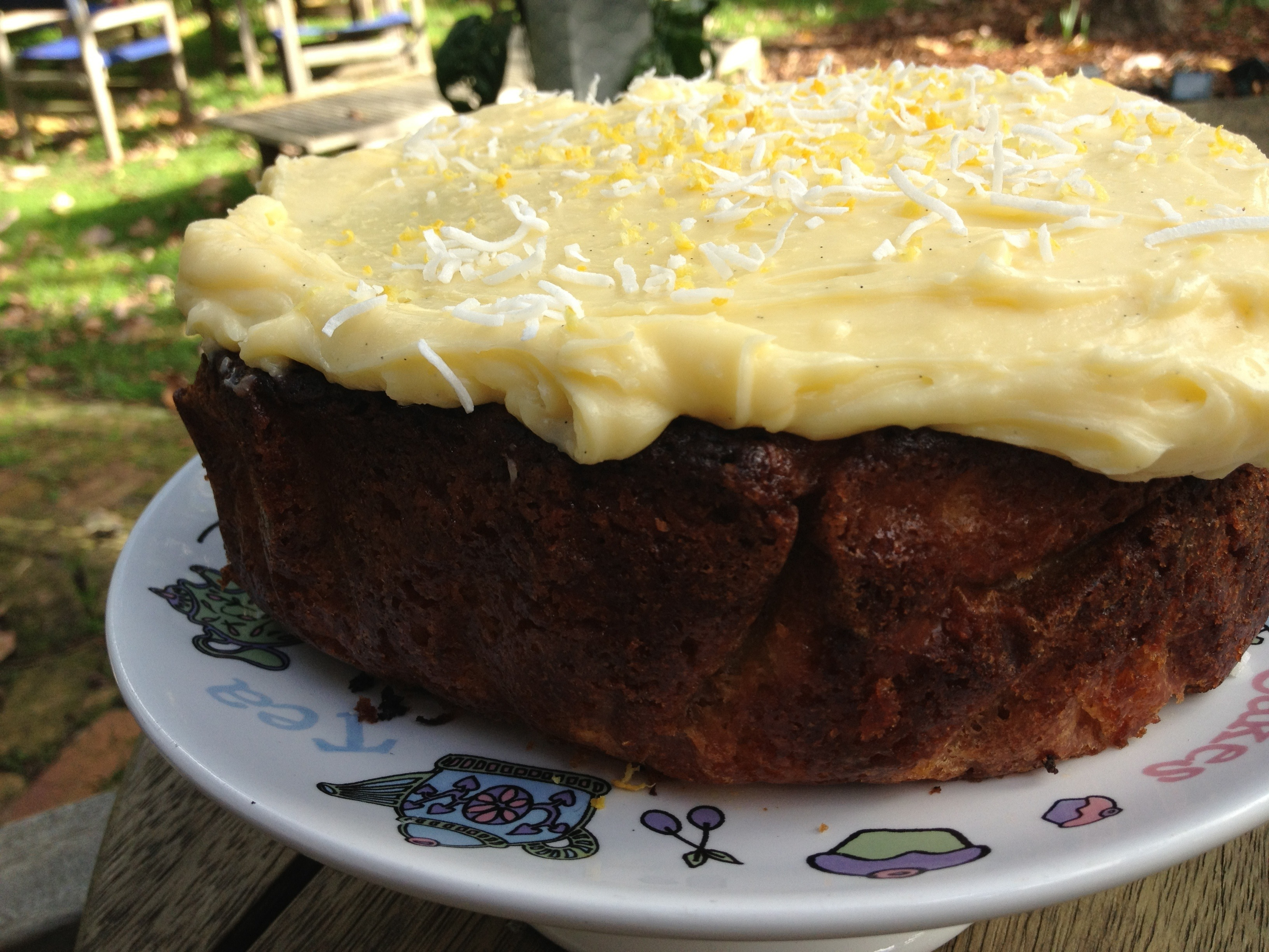 Pineapple and Coconut Carrot Cake (not vegan)
