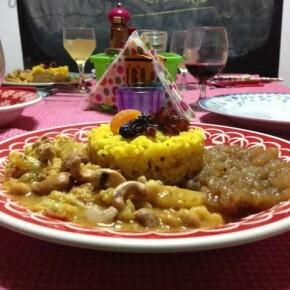de pratos para jantar entre amigos