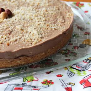 Cheesecake de Nutella & Novidade Polishop + Presentinho