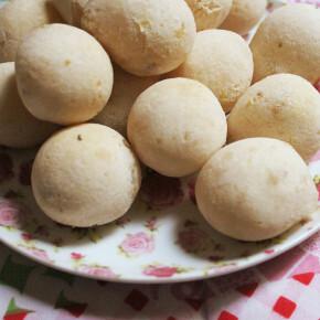 Pão de Queijo Fake (com Batata Doce)