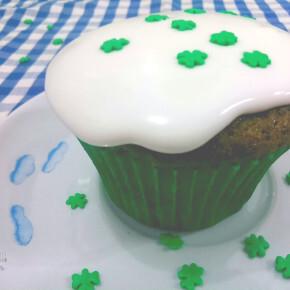 Cupcakes Veludo Verde (Green Velvet)