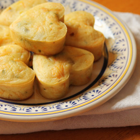 Muffin Salgado de Cenoura