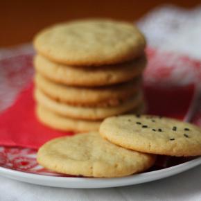 Cookies Simples de Baunilha