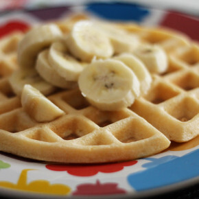 Massa Básica de Waffle