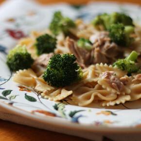 Salada de Atum com Brócolis