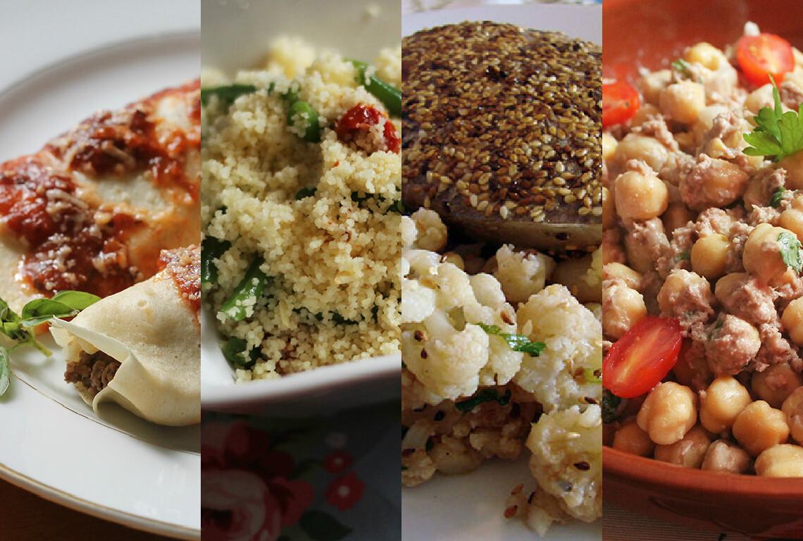 10 receitas rápidas para o almoço de domingo