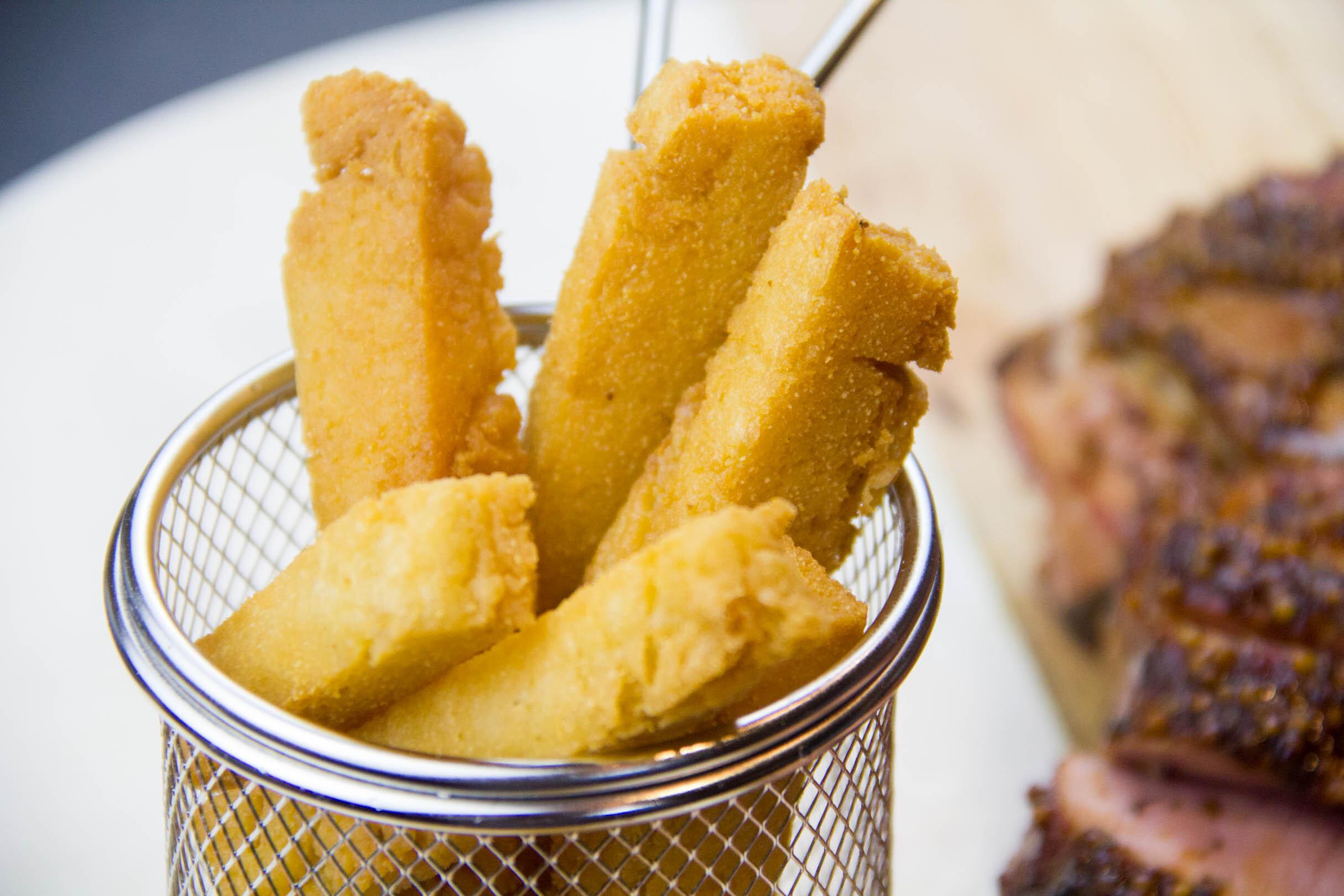 Les panisses ou frittes provençales